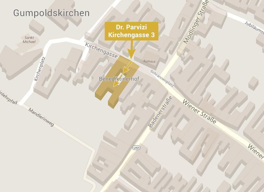 Parvizi Karte Gumpoldskirchen